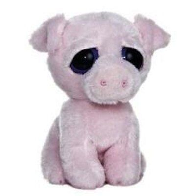 "Dreamy Eyes Oink Pig 6"" by Aurora"
