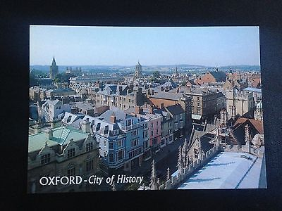 Oxford City Of History Multiple Views Postcard