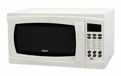 RCA RMW1112 1.1 Cubic Feet Microwave Oven, White