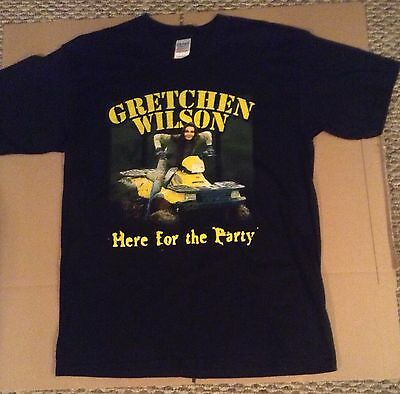 Gretchen Wilson Here For The Party Tour Tshirt Size L (New)