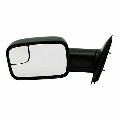 cciyu Exterior Driver Side Mirror With Heated Fit For 2002-2004 DODGE RAM