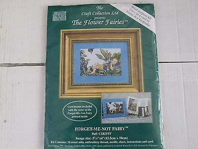 The Craft Collection Flower Fairy cross stitch kit