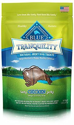 Blue Buffalo Tranquility Chicken Jerky Dog Treats, 3.25 oz