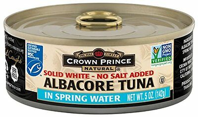 Crown Prince Natural Solid White Albacore Tuna in Spring Wat