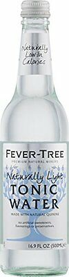 Fever-Tree Naturally Light Tonic Water, 16.9-Ounce (Pack of