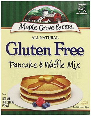 Maple Grove Farms Gluten Free Pancake Mix, 16 oz