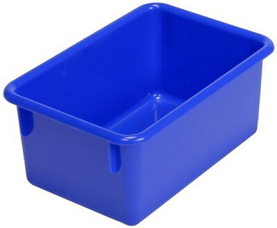 """Steffywood Plastic Tote Tray Fits 12"""" Cabinet 11""""L x 8""""W x 5""""H Blue"""