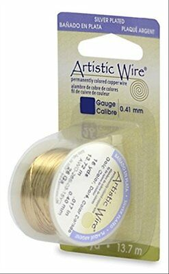 Artistic Wire 18S Gauge Wire, Gold Color, 4-Yard