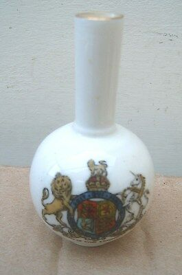 Ancient Jar Model Southwold Town Hall W H Goss(Arms of King Edward VII Crest).