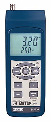REED Instruments SD-230 SD Series pH/ORP Datalogger, 0.00 to
