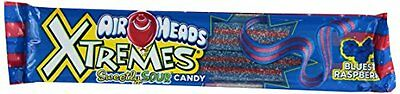 Airheads Xtremes Sour Candy, Bluest Raspberry, 2 Ounce (Pack