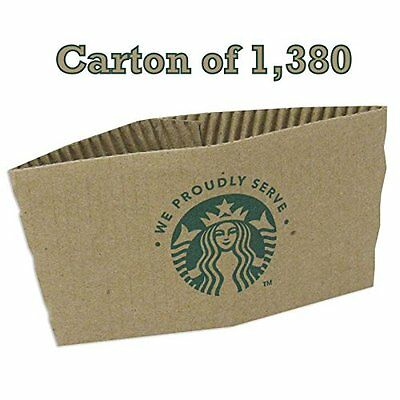 Starbucks Coffee Cup Sleeves. Coffee Jackets for Hot Cup 138