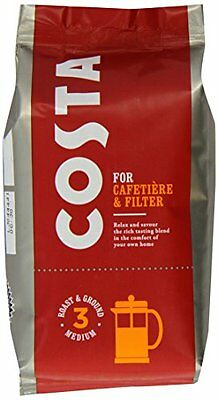 Costa - For Cafetiére & Filter - Packet - 200g