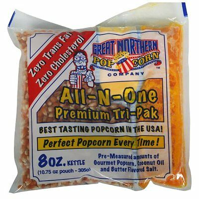 Great Northern Popcorn 8 oz. Popcorn Portion Packs - Case of