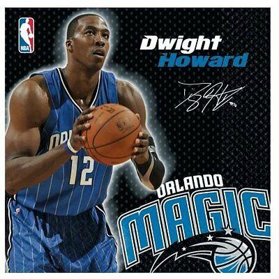 Amscan 203665 Orlando Magic Dwight Howard Basketball - Lunch