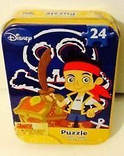 Jake and The Never Land Pirates 24pc Mini Puzzle in Tin Box