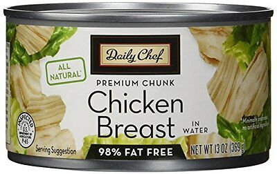 Daily Chef All Natural Chicken Breast in Water, 13 oz, 5 Cou