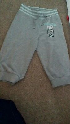 Hello kitty girls 3/4 trousers age 5_6