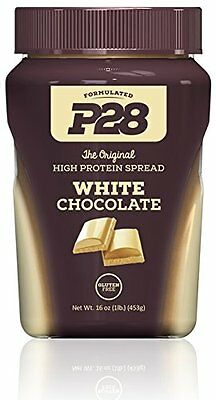 P28 Foods Formulated High Protein Spread, White Chocolate, 1