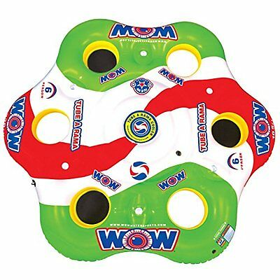 WOW World of Watersports, 13-2050, Tube A Rama, 6 Person Flo