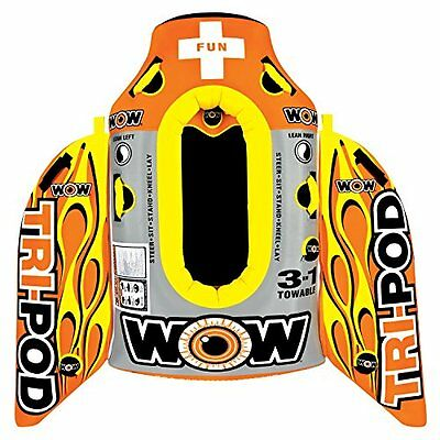 WOW World of Watersports, 13-1020, Tri Pod, 3 Towables in On