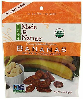 Made in Nature Bananas Slice, 4 Ounce