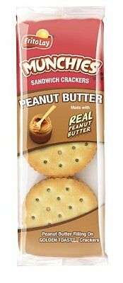 Munchies Peanut Butter on Toast Crackers, 1.42 Ounce (Pack o