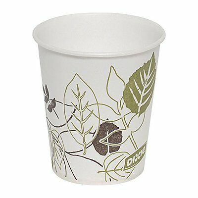Dixie 45PATH Pathways Wax Treated Paper Cold Cup, 3 oz (Case