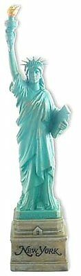 10 Inch Statue of Liberty Statue, Green with Brown New York