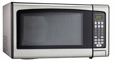 Danby Designer 1.1 cu.ft. Countertop Microwave, Stainless St