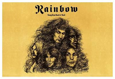 Rainbow  **POSTER**  Long Live Rock N Roll  - Ritchie Blackmore Ronnie James Dio