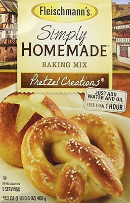 Fleischmann's Simply Homemade Baking Mix Pretzel Creations 1