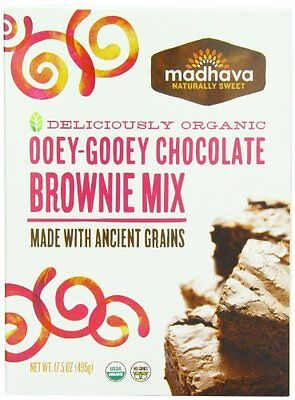 Madhava Organic Ooey-Gooey Chocolate Brownie Mix with Ancien