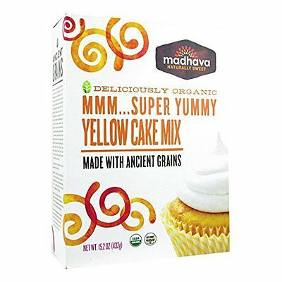 Madhava Organic Super Yummy Cake Mix with Ancient Grains, Ye