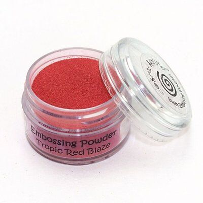 Cosmic Shimmer Blaze Embossing Powder 20ml - Tropic Red