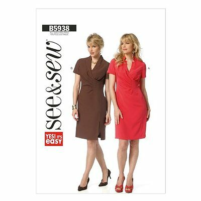 Butterick Patterns B5938 Misses' Dress Sewing Template, Size