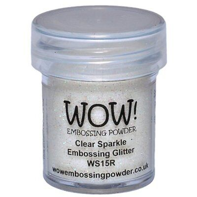 Wow Embossing Powder WOW! Embossing Powder, 15ml, Clear Spar