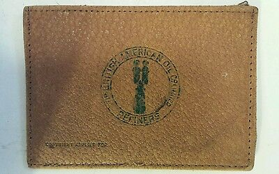 """Vintage Canadian """"british American Oil Company"""" Credit Card/ Id. Holder"""