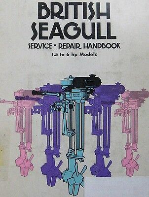 British Seagull Service, Repair Handbook: 2 to 6 Hp Models  on disc CLYMER