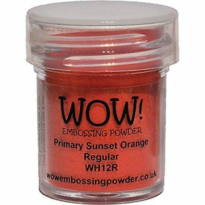 Wow Embossing Powder, 15ml, Sunset Orange
