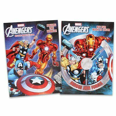 1 piece of The Avengers Coloring Book - 96p, RANDOM SELECTION