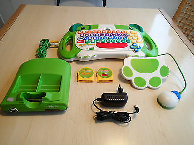 Leap Frog TV Lernkonsole für Kinder englisch learn + Nemo, Toy Story game spiele