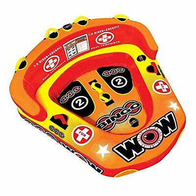 WOW World of Watersports 14-1060 Bingo Inflatable, 1 or 2 Pe