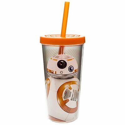 Zak! Designs Insulated Tumbler with Screw-on Lid and Straw f