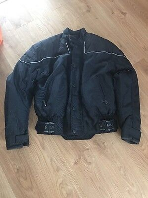 frank thomas motorcycle jacket, Black With Removable Inner Lining. Goretex