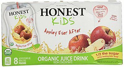 Honest Tea Juice 8ct Appley Ever Aft