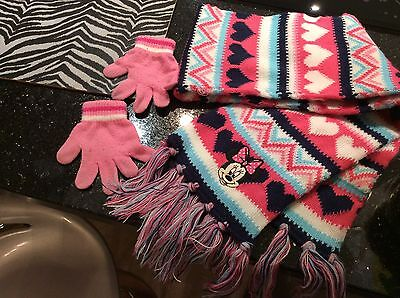 Minnie Mouse Scarf 4 5 6 Years