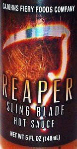 Reaper Sling Blade Hot Sauce - Made with the Carolina Reaper