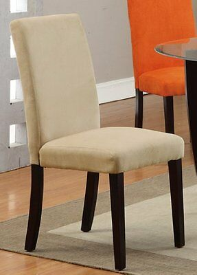 Dining Chair in Saddle Finish by Poundex (Set of 2)