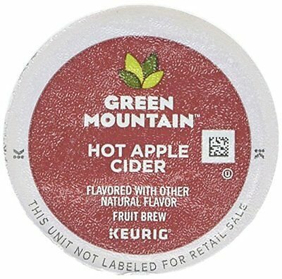 Green Mountain Naturals K-Cups, Hot Apple Cider, 24 Count (P
